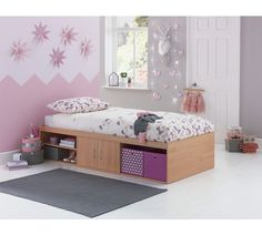Check and reserve HOME Declan Cabin Bed - Beech at Argos.ie, your one stop shop for Contemporary Bedroom Furniture, Home Furniture, Box Room Beds, White Kids Bed, Bed Frame With Storage, Childrens Beds, White Bedding, Kid Beds, Toddler Bed