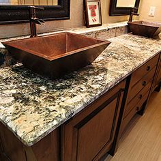 Neptune Bordeaux Granite Bathroom Countertop Liberty Hill Texas