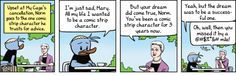 GoComics.com - Your source for the best online comic strips around. - My Cage: Norm meets Mary Worth.
