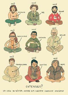 Meditacion Arte Do Hip Hop, Biblia Online, Best Vibrators, Work Travel, Buddhism, Memes, Peanuts Comics, Illustration Art, Funny Quotes