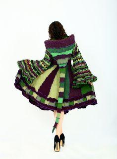 Forest Elf Coat - A Woodland Fairy Inspired Dream Coat - EnlightenedPlatypus, via Etsy.