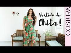 VESTIDO ENVELOPE - COSTURA SUPER FÁCIL | ELLEN BORGES - YouTube