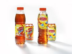 Branding agency Design Bridge re-designed the global Lipton brand to target  millennial audiences and reflect the brand's new healthy and uplifting  positioning. The project included key design and marketing aspects  including branding, visual equities, bottle structure, and visual campaigns  for communications.