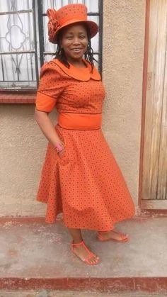 Lesotho ShweShwe Dresses 2019 You Must Love African Print Dresses, African Fashion Dresses, African Dress, Fashion Outfits, Women's Fashion, African Prints, Fashion Styles, Traditional Dresses Designs, African Traditional Dresses