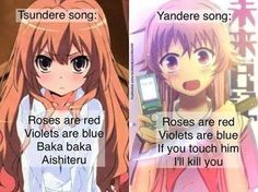 Tsundere Song vs Yandere Song 0.0 ... *back off slowly*