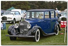 1936 Rolls-Royce 25/30 with Sedanca De Ville coachwork by HJ Mulliner