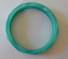 Items similar to Metallic Style Turquoise BPA Free Teething Bangle. Mother's Day Special Normally 12 dollars now 8 on Etsy Teething Bracelet, Metallic Style, Turquoise, Cool Stuff, Trending Outfits, Unique Jewelry, Bracelets, Handmade Gifts, Free