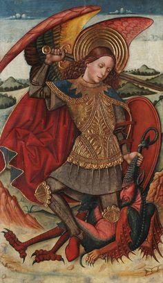 Juan de la Abadía, San Miguel Arcángel, ca. 1486   Museo Lázaro Galdiano