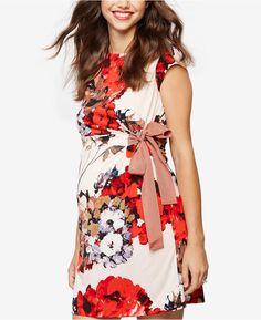 b2d98f47673b Taylor Maternity Floral-Print Dress #maternity #maternitydress #dress  #floralprintdress Stylish Maternity