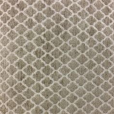 This is a gray and natural chenille diamond design upholstery fabric by P Kaufmann, suitable for any decor in the home or office. Perfect for pillows, cushions and furniture.v001PTEF