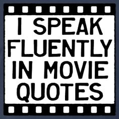 If you, or someone you know loves movies as much as we do, this is for you. Er, or them.