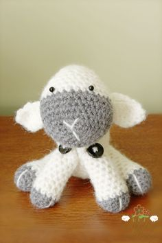 Lamb Amigurumi by LionandLambPhotos on Etsy, $18.50