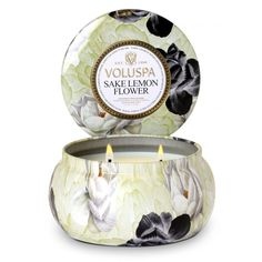 Voluspa Maison Jardin Candles represent the reintroduction of Voluspa Classic fragrances in the elegant Maison format. Bright, bold, charismatic and classic, take a trip down memory lane with these Voluspa scents!