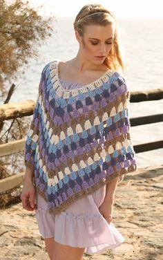 Hæklet, fin poncho perfect poncho, poncho crochet, free crochet, drop, poncho pattern, knit, poncho power, crochet ladi, crochet patterns