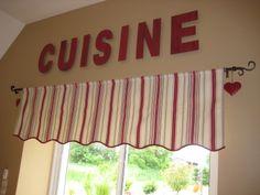 1000 id es sur le th me rideaux de la cuisine sur pinterest rideaux cantonni res et. Black Bedroom Furniture Sets. Home Design Ideas