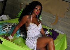 Camila Silva: Queen of the Drumbeat for the 2013 Carnaval season of Samba schools in Rio and Sampa