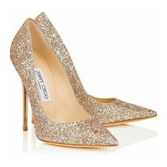 Jimmy Choo nude shadow course, glitter ANOUK pumps - Most Expensive Shoe Brands Dream Shoes, Crazy Shoes, Me Too Shoes, Sparkly Heels, Glitter Shoes, Glitter Fabric, Glitter Top, Glitter Hair, Bridal Shoes