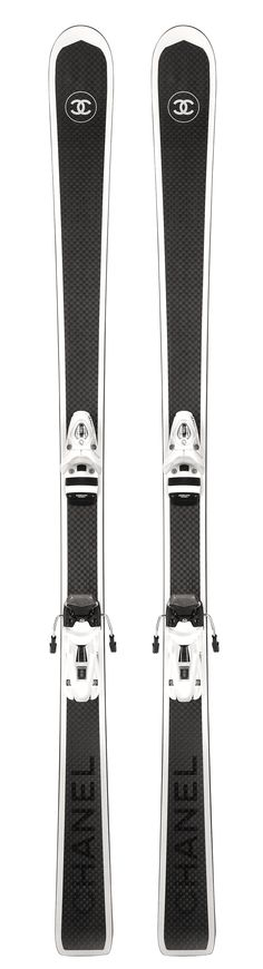 Chanel Ski's To Stay Fabulous On The Slopes