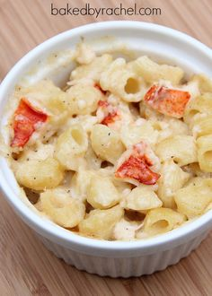 Lobster Mac and Cheese Recipe from bakedbyrachel.com