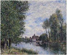 Summer in Moret - Alfred Sisley