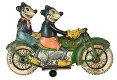 Motorcycle Mickey and Minnie (((((☮♥❤♥☮)))))