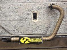 wrap motorcycle exhaust
