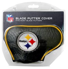 NFL Pittsburgh Steelers Blade Putter Cover by Team Golf. $16.95. NFL Pittsburgh Steelers Blade Putter Cover