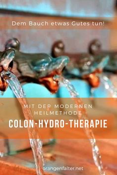 Dem Bauch etwas Gutes tun ... Mehr Informationen zur Colon Hydro Therapie gibt es in unserem Artikel.