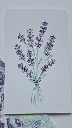 Watercolor Art Lessons, Easy Watercolor, Watercolor Cards, Watercolor Flowers, Watercolor Paintings, Sketch Poses, Fineliner Pens, Card Drawing, Goal Planning
