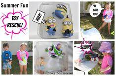 Summer Fun Toy Rescue!