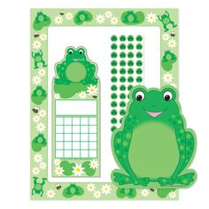 April is National Frog Month and Creative Shapes Etc. has many frog notepads, stickers and cut-outs! #NationalFrogMonth #Classroom #Crafts