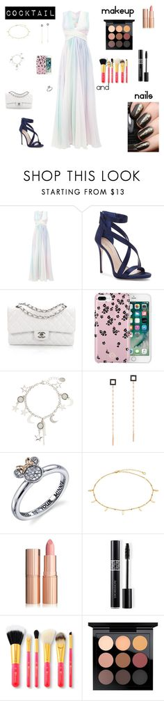 """""""Cocktail"""" by nataliamaria2006 ❤ liked on Polyvore featuring Zuhair Murad, Imagine by Vince Camuto, Chanel, Vera Bradley, Lana, Disney, Christian Dior and MAC Cosmetics"""