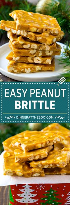 Peanut Brittle Recipe Peanut Candy Homemade Candy candy peanuts dessert sweets dinneratthezoo christmas is part of Candy recipes homemade - Brownie Desserts, Oreo Dessert, Köstliche Desserts, Delicious Desserts, Dessert Recipes, Homemade Sweets, Homemade Candies, Homemade Candy Recipes, Easy Christmas Candy Recipes