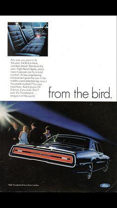 1968 Ford Thunderbird 2 and 4 door Landau - page 2