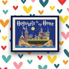 BoGo Pattern cross stitch Hogwarts is my Home by LolitaMade