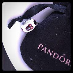 Pandora Minnie Mouse Charm BRAND NEW Never worn. Minnie Mouse Pandora charm. Have Pandora pouch for it as well. Pandora Jewelry