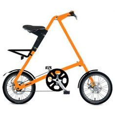 Strida Bike 5.0 : Compact, lightweight and peerless performance. Coomes in red, yellow, orange, green, white and aluminum