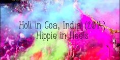 Holi Celebration & festival // Goa // India 2014