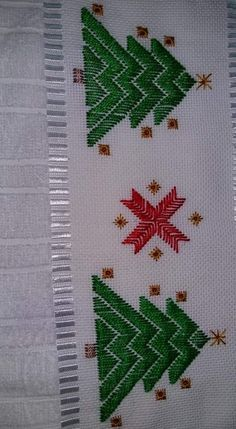 Gabriella Cressa's media content and analytics Hardanger Embroidery, Hand Embroidery Stitches, Diy Embroidery, Embroidery Designs, Cross Stitch Designs, Cross Stitch Patterns, Bargello Patterns, Swedish Weaving, Cross Stitch Tree