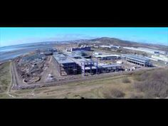 Aerial video of the new Swansea University Bay Campus (under construction, due to open 2015)