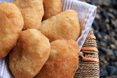 Meat Piroshki... Like the dough recipe, have to bake them tho, tastes better to me. Dopka likes fried