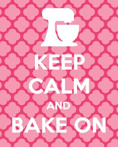 Keep Calm and Bake On Printable by sunshineinkdigitals on Etsy, $8.50