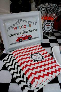 Mauricio's Race Car Birthday - Project Nursery | Project Nursery