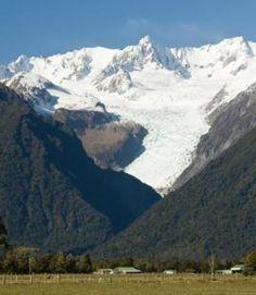 Glacier - West Coast NZ West Coast Nz, Natural Wonders, New Zealand, Mount Everest, Mountains, Places, Travel, Viajes, Destinations