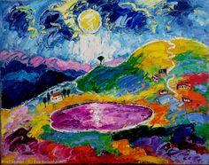 Artwork >> Eva Kudukhashvili >> ,,lake Nadarbazev'' $35 000 ,00