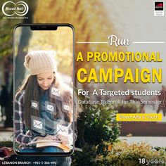 Run a promotional campaign for a Targeted students Database. Direct #alfa and #touch Leb branch:+961-1-366-490/1/2 www.broadnet.me #lebanon #smsmarketing #bulksms #bulksmsservice #bulksmsprovider #marketingplan #marketingideas #marketingtools #promotionalsms Marketing Plan, Marketing Tools, Android Application Development, Lebanon, Promotion, Campaign, Web Design, Students, Touch