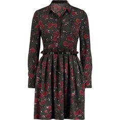 MOTHER OF PEARL Bentley Cotton & Silk Floral Dress. #motherofpearl #cloth # dress | Mother Of Pearl | Pinterest | Silk floral dress