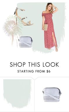 """""""Her outfit is louder than fireworks!"""" by amiclubwear ❤ liked on Polyvore featuring maxidress, inspiration and amiobsessed"""
