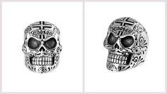 Large Skull Ring, Chosen Cross Detail #KingBaby http://www.boudifashion.com/jewellery/men/king-baby-large-skull-ring-chosen-cross-detail.html #BoudiFashion #Rings #DesignerJewellery #Skull #Jewellery #Ring #Mens #Luxury #KingBabyJewellery #Celebs #SkullRing