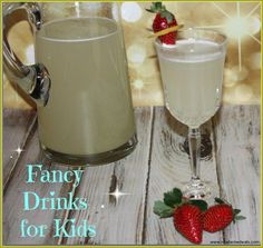 Serve some fancy drinks for kids on your next party. These cocktails and mocktails recipes are easy and yummy